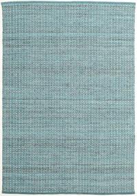 Alva - 청록색/흰색 러그 160X230 정품  모던 수제 라이트 블루/다크 터코이즈   (울, 인도)