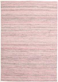 Alva - 핑크색/흰색 러그 140X200 정품  모던 수제 라이트 핑크/라이트 퍼플 (울, 인도)