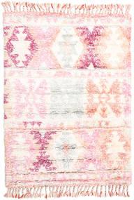 Märta - 핑크색 러그 120X180 정품  모던 수제 베이지/라이트 핑크 (울, 인도)
