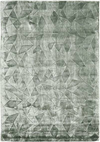 Crystal - Frosty_Green 러그 140X200 모던 라이트 그린/다크 그린 ( 인도)