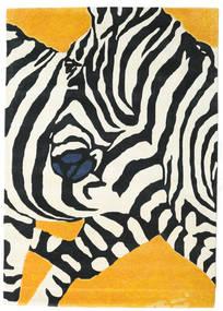 Zebra - 2018 러그 160X230 모던 베이지/블랙 (울, 인도)