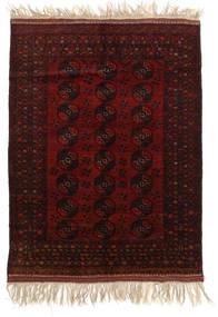 아프가니스탄 Khal Mohammadi 러그 150X196 정품 오리엔탈 수제 다크 브라운/다크 레드 (울, 아프가니스탄)