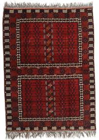 아프가니스탄 Khal Mohammadi 러그 167X221 정품 오리엔탈 수제 다크 레드/라이트 그레이 (울, 아프가니스탄)