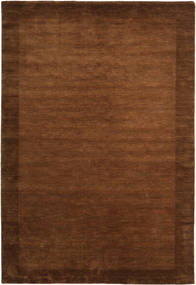베틀 Frame - 갈색 러그 200X300 모던 브라운 (울, 인도)
