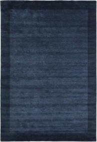 베틀 Frame - 어두운 파란색 러그 200X300 모던 다크 블루/블루 (울, 인도)