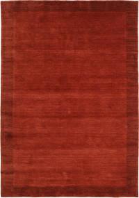 베틀 Frame - 먼지 러그 160X230 모던 러스트 레드/크림슨 레드 (울, 인도)