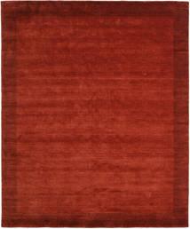 베틀 Frame - 먼지 러그 250X300 모던 러스트 레드/크림슨 레드 대형 (울, 인도)