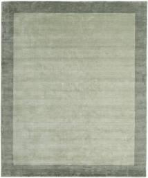 베틀 Frame - 회색/녹색 러그 250X300 모던 라이트 그린/파스텔 그린 대형 (울, 인도)