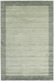 베틀 Frame - 회색/녹색 러그 200X300 모던 라이트 그린/파스텔 그린 (울, 인도)