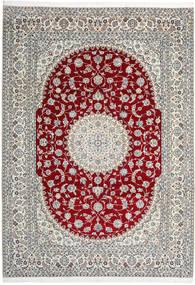 나인 9La 러그 246X345 정품  오리엔탈 수제 라이트 그레이/베이지 (울/실크, 페르시아/이란)