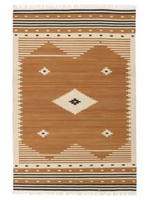 Tribal - 머스타드 러그 160X230 정품  모던 수제 브라운/라이트 브라운 (울, 인도)