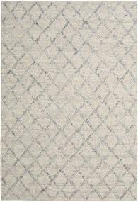 Rut - Silver/회색 Melange 러그 200X300 정품  모던 수제 라이트 그레이/다크 베이지 (울, 인도)