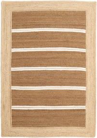 야외 카펫 Frida Stripe - 갈색 러그 160X230 정품  모던 수제 다크 베이지/베이지/라이트 브라운 ( 인도)