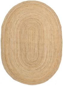 Frida Oval - 천연 러그 140X200 정품  모던 수제 다크 베이지/베이지 ( 인도)