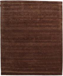 가베 인도 러그 255X301 정품 모던 수제 다크 레드/다크 브라운 대형 (울, 인도)