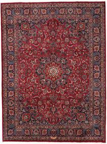 마슈하드 러그 294X396 정품  오리엔탈 수제 다크 레드/다크 그레이 대형 (울, 페르시아/이란)