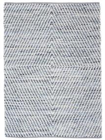 Hilda - Denim/흰색 러그 170X240 정품  모던 수제 베이지/라이트 블루 (면화, 인도)