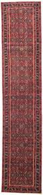 하마단 파티나 러그 78X380 정품 오리엔탈 수제 복도용 러너 크림슨 레드/다크 레드 (울, 페르시아/이란)