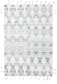Pet Yarn 킬림 러그 164X240 정품  모던 수제 라이트 그레이/화이트/크림 ( 인도)