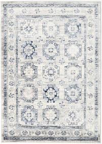 Menara Everyday - 회색/파란색 러그 160X230 모던 라이트 그레이/화이트/크림 ( 터키)