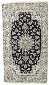 나인 러그 118X210 정품  오리엔탈 수제 라이트 그레이/다크 그레이 (울, 페르시아/이란)