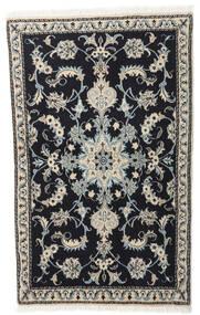 나인 러그 86X140 정품  오리엔탈 수제 다크 그레이/라이트 그레이 (울, 페르시아/이란)