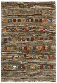 가베 Persia 러그 118X178 정품 모던 수제 라이트 그레이/다크 브라운 (울, 페르시아/이란)