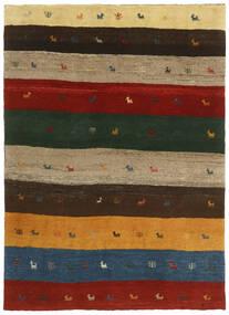 가베 Persia 러그 123X176 정품  모던 수제 다크 그린/크림슨 레드 (울, 페르시아/이란)