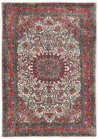 비자르 Takab/Bukan 러그 113X153 정품 오리엔탈 수제 다크 그레이/다크 레드 (울, 페르시아/이란)