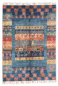 모던 아프가니스탄 러그 87X124 정품  모던 수제 다크 블루/블루 (울, 아프가니스탄)