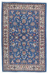 Kashmar 러그 105X160 정품  오리엔탈 수제 라이트 그레이/다크 블루 (울, 페르시아/이란)