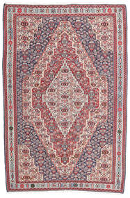킬림 세너 러그 148X225 정품 오리엔탈 수제 다크 그레이/라이트 그레이 (울, 페르시아/이란)