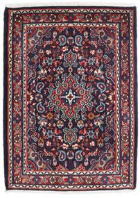 하마단 Shahrbaf 러그 72X100 정품 오리엔탈 수제 다크 퍼플/다크 레드 (울, 페르시아/이란)