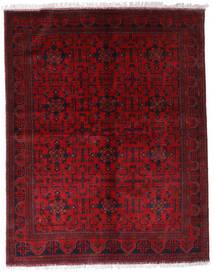 아프가니스탄 Khal Mohammadi 러그 174X220 정품  오리엔탈 수제 다크 레드/크림슨 레드 (울, 아프가니스탄)