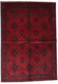 아프가니스탄 Khal Mohammadi 러그 168X232 정품  오리엔탈 수제 다크 레드/크림슨 레드 (울, 아프가니스탄)