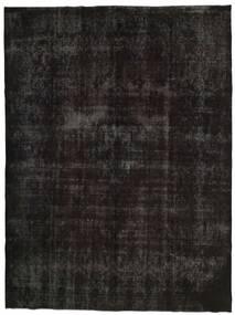 빈티지 Heritage 러그 300X396 정품  모던 수제 블랙/다크 그레이 대형 (울, 페르시아/이란)