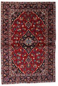 케샨 러그 101X150 정품  오리엔탈 수제 다크 레드 (울, 페르시아/이란)