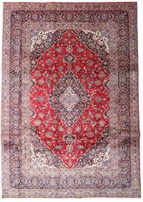 케샨 러그 248X348 정품  오리엔탈 수제 라이트 퍼플/라이트 핑크 (울, 페르시아/이란)