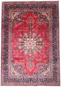 마슈하드 러그 203X290 정품  오리엔탈 수제 다크 퍼플/핑크 (울, 페르시아/이란)
