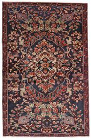 바흐티아리 러그 133X205 정품 오리엔탈 수제 다크 그레이/다크 레드 (울, 페르시아/이란)