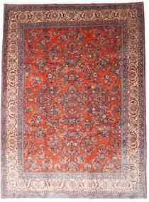 사로크 러그 260X348 정품 오리엔탈 수제 다크 레드/라이트 퍼플 대형 (울, 페르시아/이란)