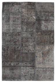 패치워크 - Persien/Iran 러그 105X159 정품  모던 수제 다크 그레이/블랙 (울, 페르시아/이란)
