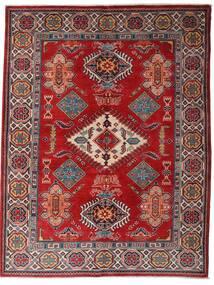 카작 러그 152X198 정품 오리엔탈 수제 다크 레드/다크 브라운 (울, 아프가니스탄)