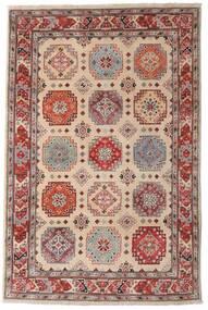 카작 러그 118X179 정품  오리엔탈 수제 다크 브라운/라이트 그레이 (울, 아프가니스탄)