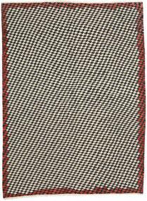 킬림 모던 러그 213X287 정품 모던 수제 블랙/베이지 (울, 아프가니스탄)