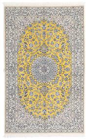 나인 9La 러그 158X248 정품 오리엔탈 수제 라이트 그레이/화이트/크림 (울/실크, 페르시아/이란)