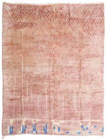 베르베르 Moroccan - Mid Atlas 러그 305X396 정품  모던 수제 라이트 핑크/베이지 대형 (울, 모로코)