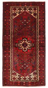 하마단 러그 101X199 정품 오리엔탈 수제 다크 레드/다크 브라운 (울, 페르시아/이란)