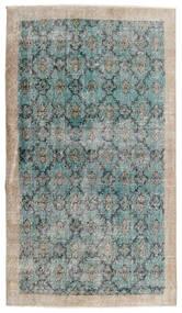 빈티지 Heritage 러그 112X197 정품 모던 수제 라이트 그레이/터코이즈 블루 (울, 페르시아/이란)