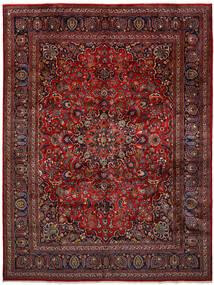 마슈하드 러그 296X393 정품  오리엔탈 수제 다크 레드/다크 그레이 대형 (울, 페르시아/이란)